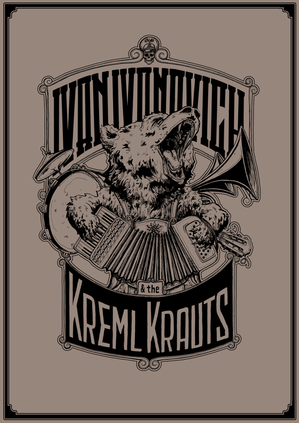 Ivan Ivanovich & the Kreml Krauts Poster