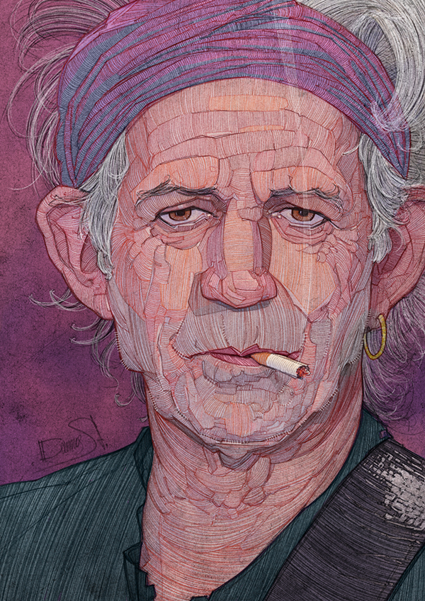 Rolling Stones by Stavros Damos - 2