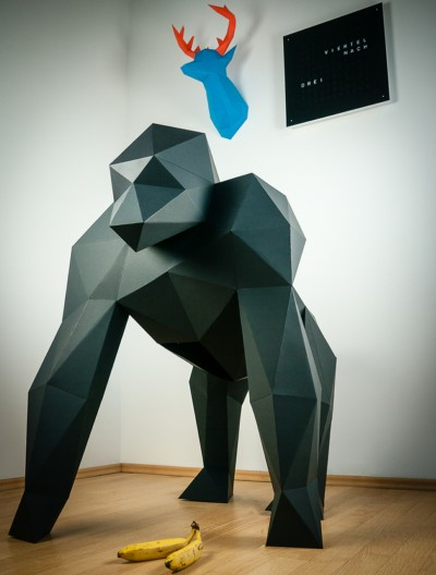 Awesome 3d Papercraft for your home