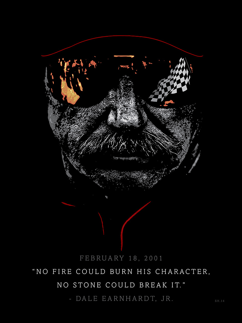 Dale-Earnhardt,-The-Man-in-Black-or-'The-Intimidator'-by-Shane-Henderson