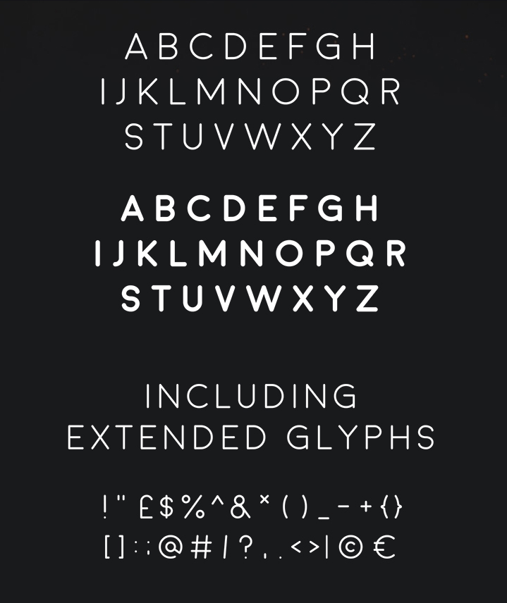 20 Spectacular and Free Fonts | Graphic Art News