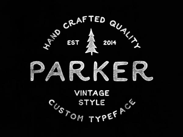 Parker Font-1