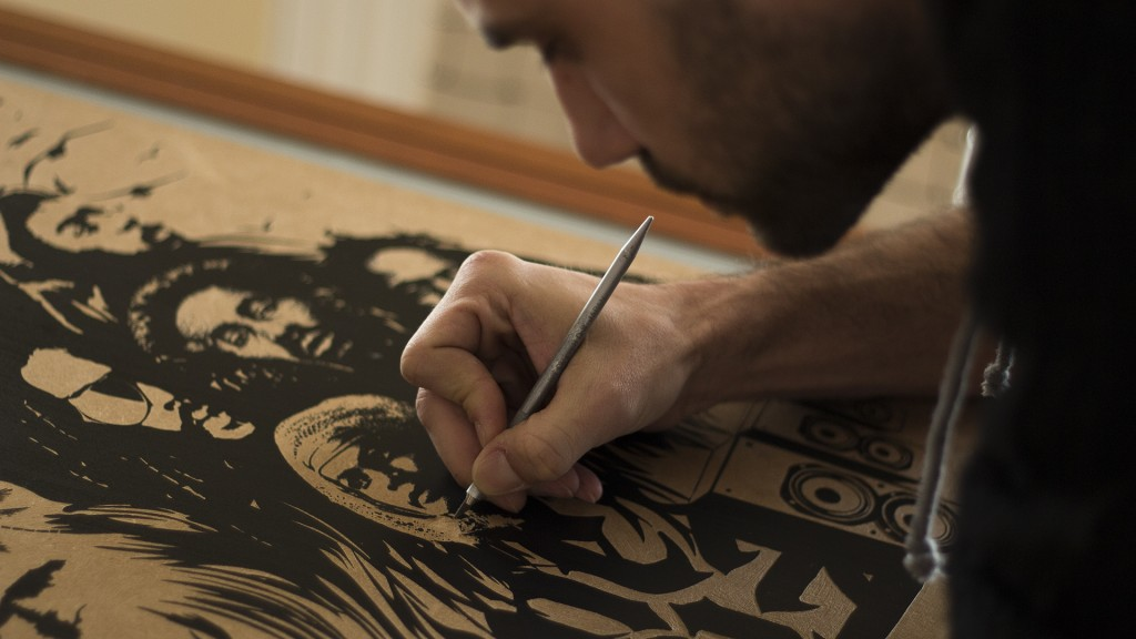 Woodcarving Reggae Poster | Interview with Theodoros Kontaxis