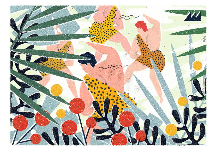 Polish Illustrator Martyna Wójcik-Śmierska