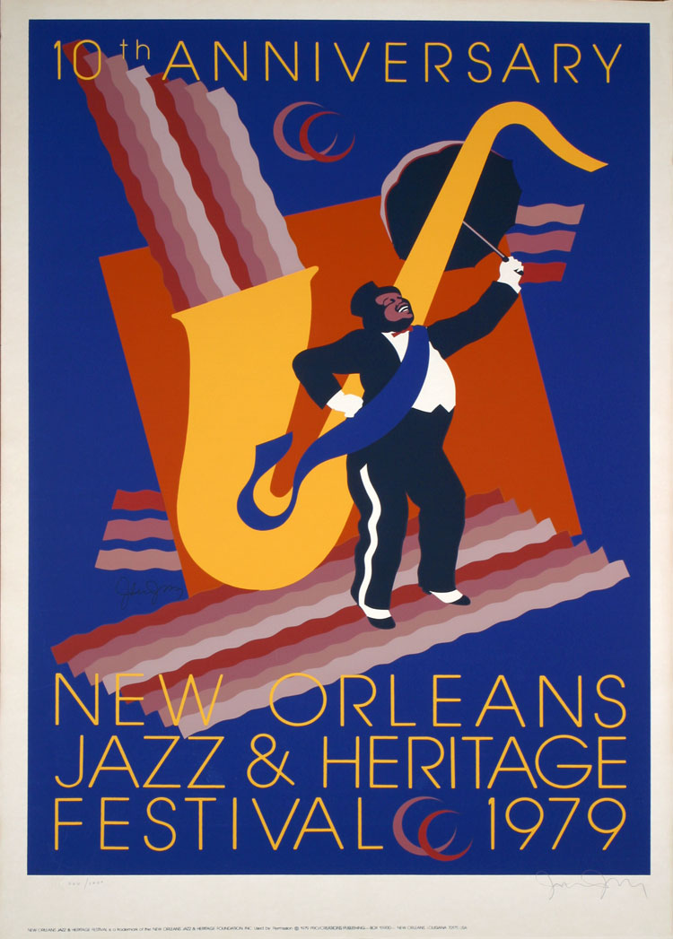 "Unique Collection of ""New Orleans Jazz & Heritage Festival ..."