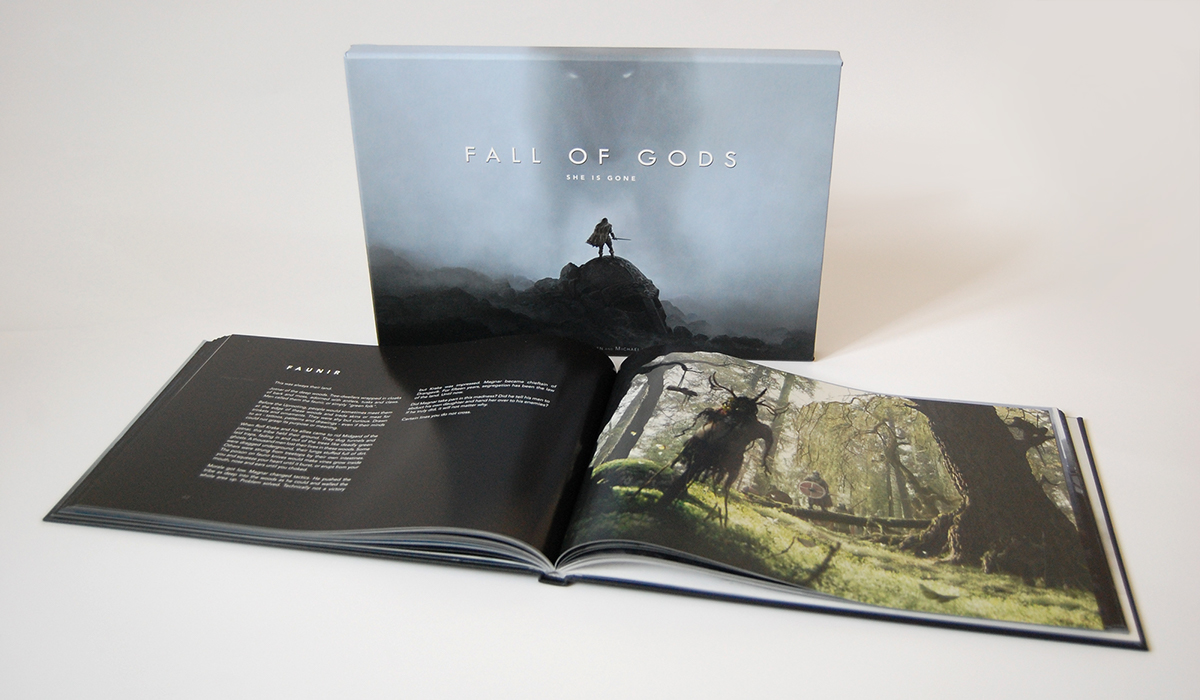 Fall of Gods - Illustraned Novel - img-02
