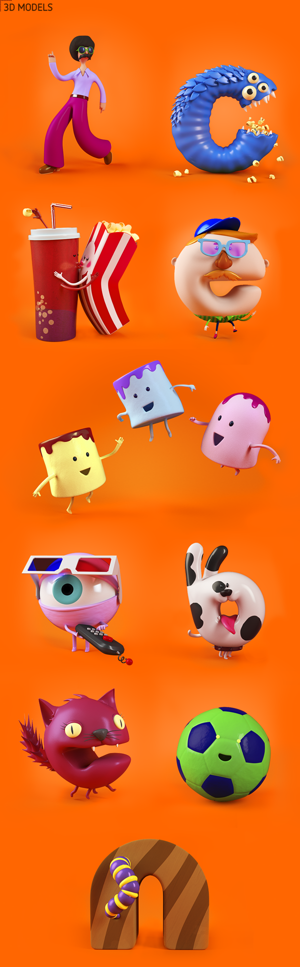 Nickelodeon Popcorn-1