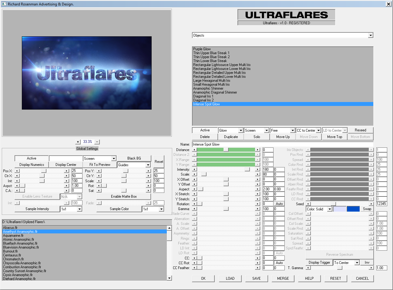 software_ultraflares_gui