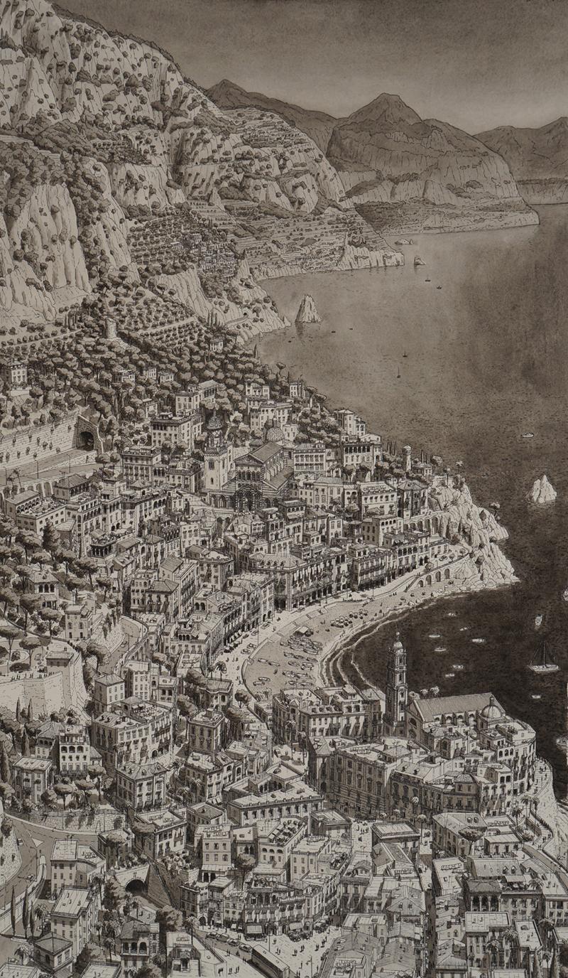 Town-on-Amalfi-coast