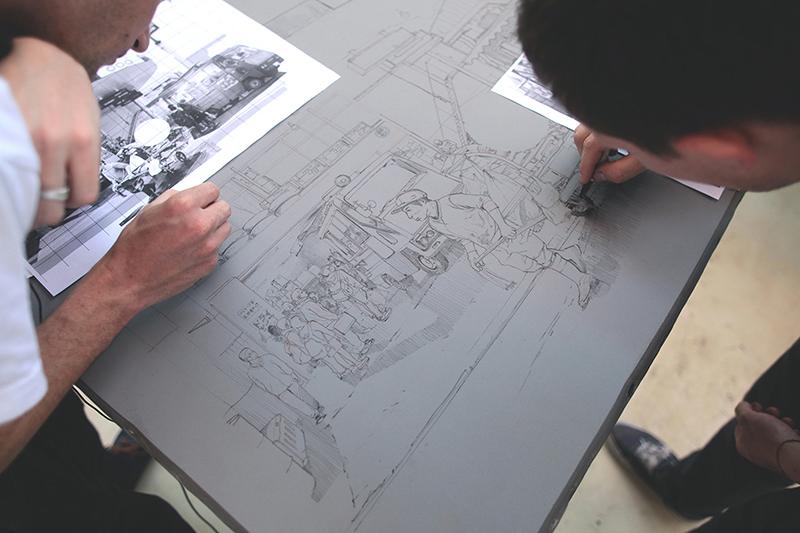 zoer_velvet_street_food_lithographie_CSX_stone_lithograph_urdla_graffiti_process_zoerism_soldart_edition_royx_nicolas_royol_18