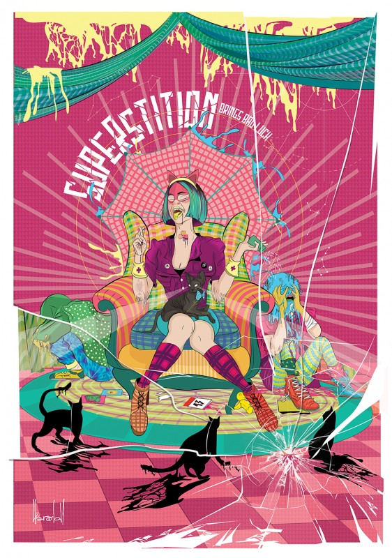 Harold Chacon Rivas - Superstition for Graphicart-news.com