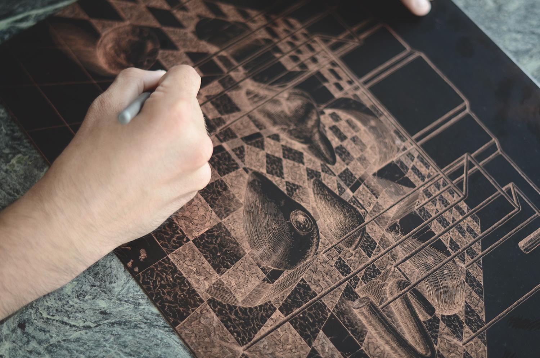 ugo-gattoni-sybille-bath-etching-eau-forte-gravure-edition-pointe-seche-cuivre-copper-taille-douce-sold-art-46
