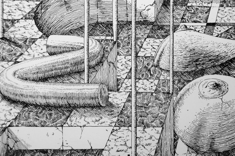 ugo-gattoni-sybille-bath-etching-eau-forte-gravure-edition-pointe-seche-cuivre-copper-taille-douce-sold-art-77
