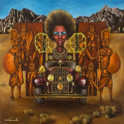 Afrofuturism by Komi Olaf