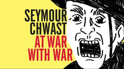 'Designers & Books' Launch Kickstarter for Seymour Chwast's New Illustrated Antiwar Book