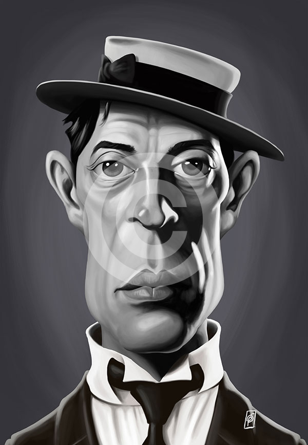 Celebrity Sunday - Buster Keaton  © Rob Snow