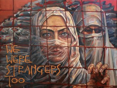 ADL and Artists Around the World Tell the Story of Refugees Through Art