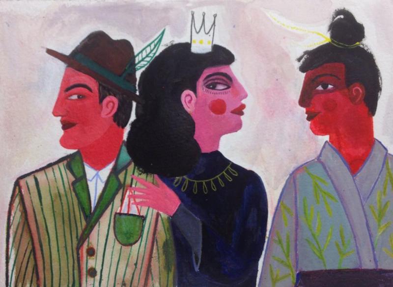 SAVARI sketchbook by Bianca Tschaikner