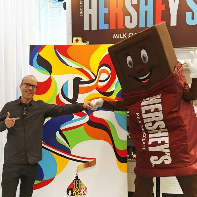 2016 RIO Summer Olympics illustrations for HERSHEY'S by Matt W. Moore