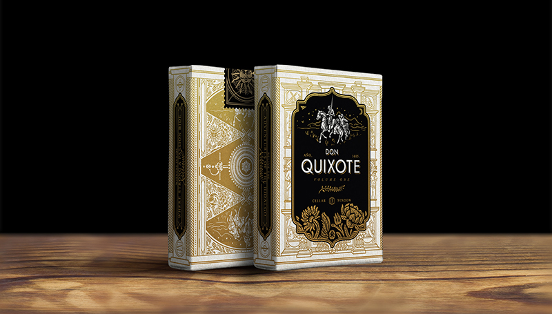 3 Don Quixote - Tuck Boxes