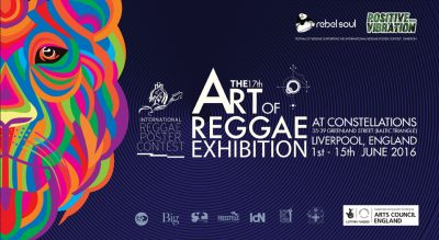 The Art of Reggae Exhibition at Liverpool's Festival of Reggae