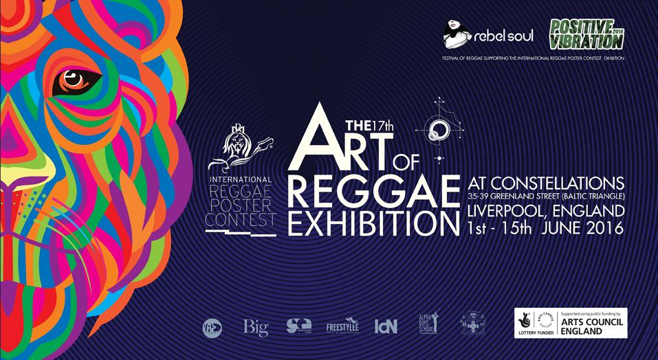 The Art of Reggae Exhibition at Liverpool's Festival of Reggae