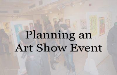 Planning An Art Show Event