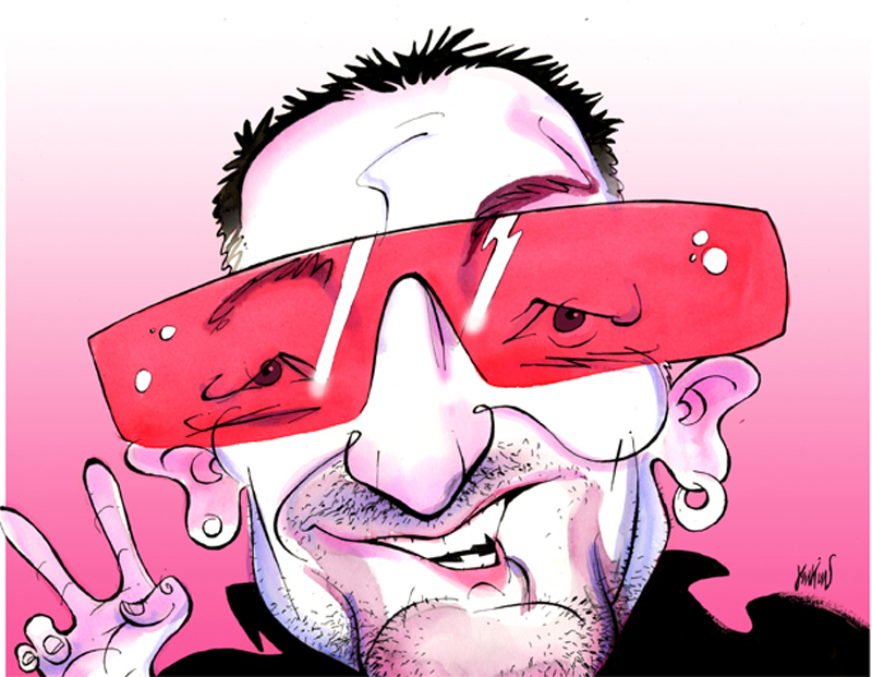 Bono 2 by Anthony Jenkins