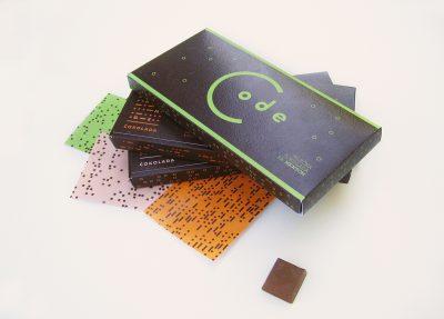 De- CODE the chocolate   Branding