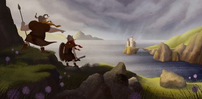 Atmospheric Illustrations by Coen Hamelink