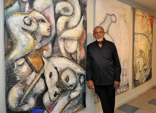 Jamaican Artist Cecil Cooper