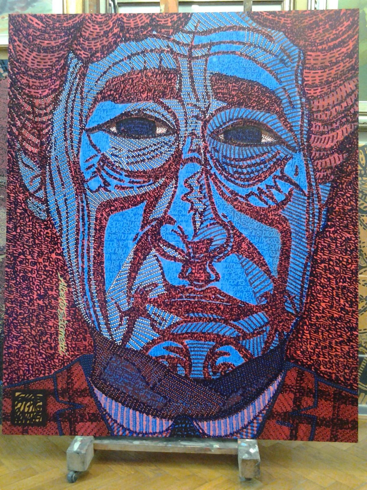 Tribute to Alberto Giacometti by Gios Manakel