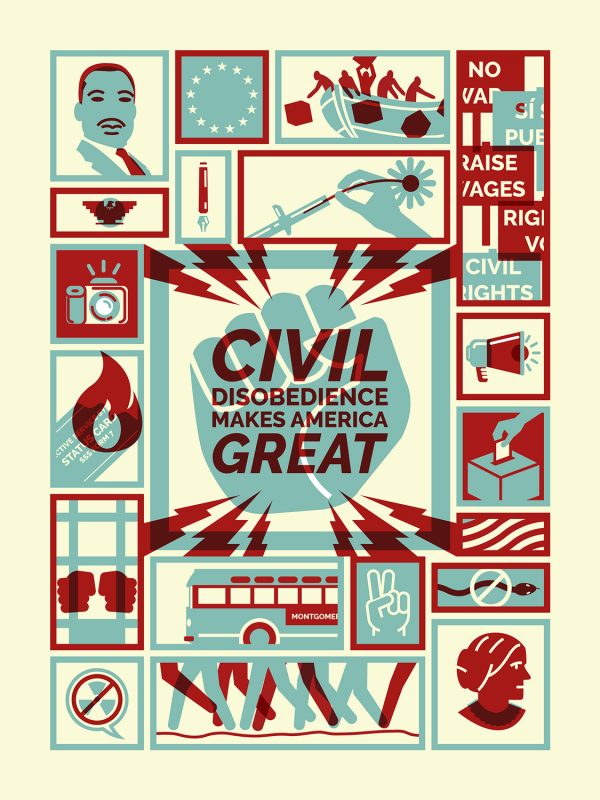 Civil disobedience by Michael Czerniawski
