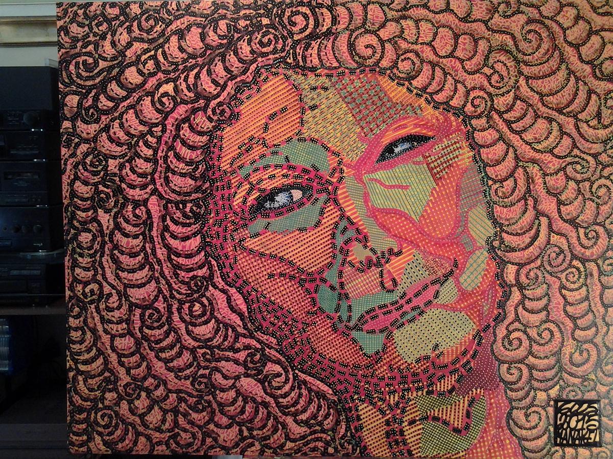 Tribute to Marlene Dumas by Gios Manakel