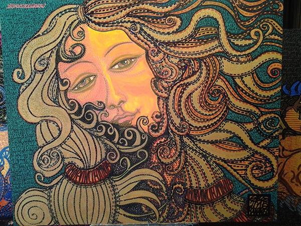 Τribute to Venus in Liberty by Gios Manakel