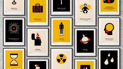 Pictogram Music Posters 2017 by Viktor Hertz