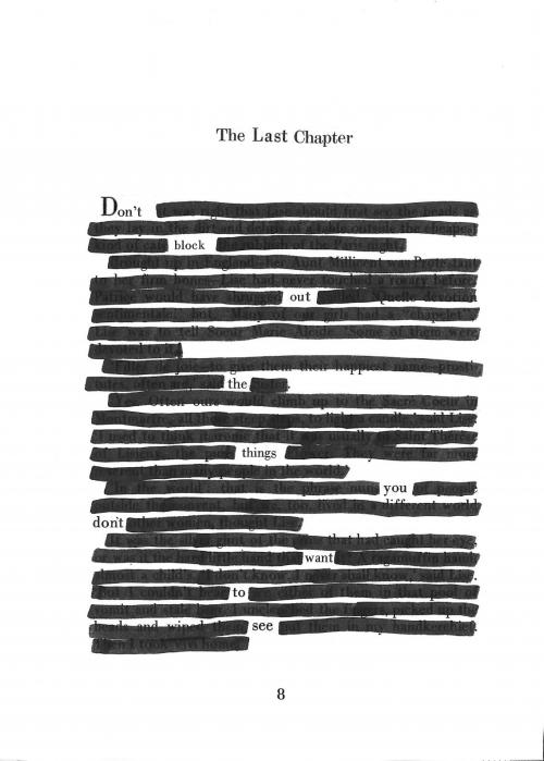 The last chapter by Lark Reimer