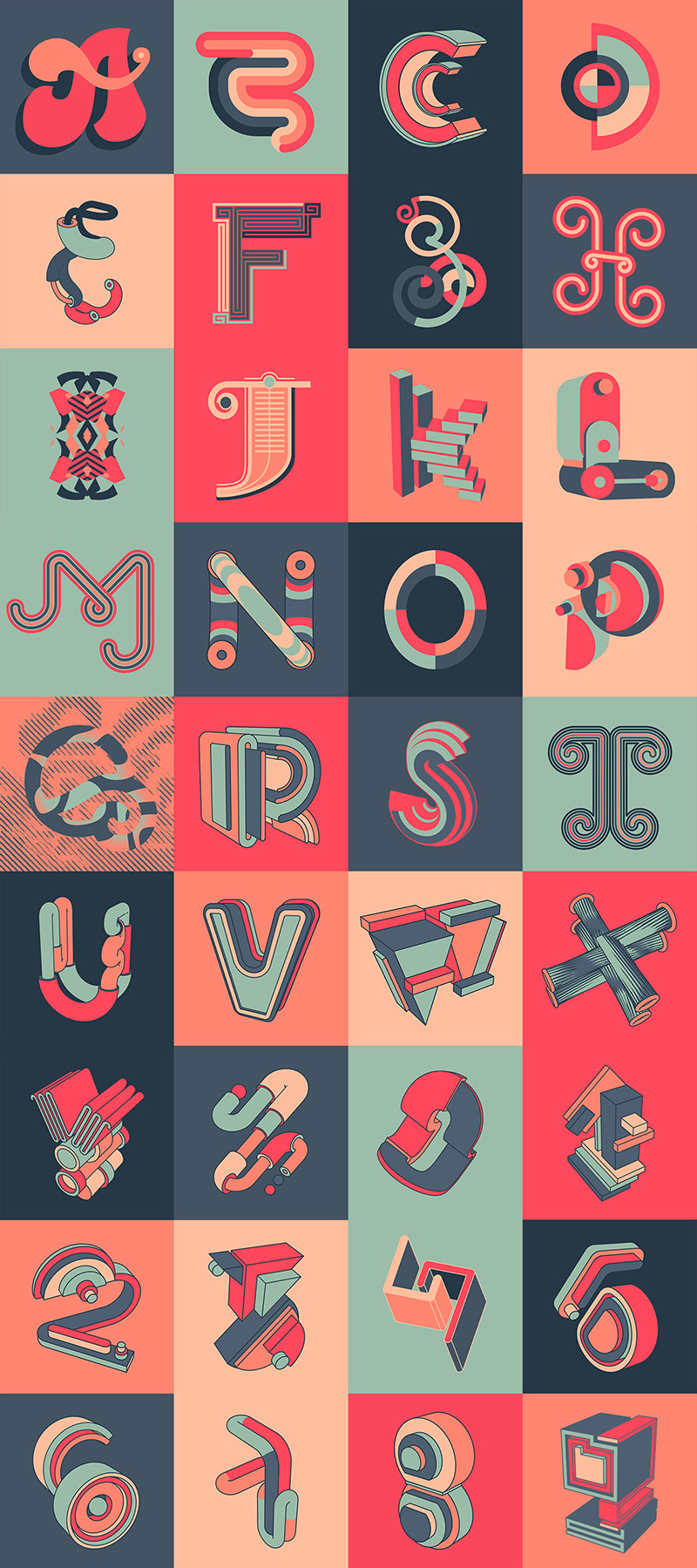Speakloop Typography Project