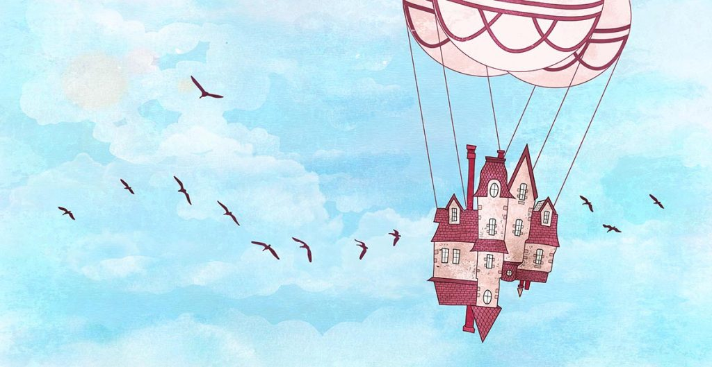 Dreamy Worlds Illustrated by Amandine Bensard