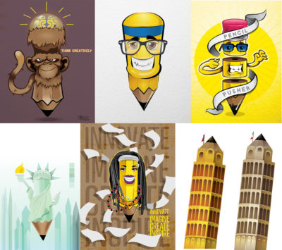 Pencils – A personal project by André Hutchinson