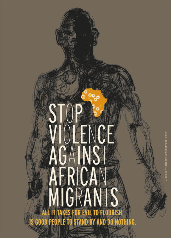 AFRICAN-MIGRANTS by Freestylee - Artist Without Borders