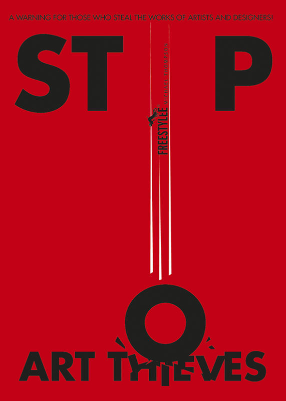 Stop Art-Thieves by Freestylee - Artist Without Borders