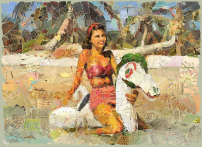 "Charis Tsevis' art exhibition ""Endless Summer"""