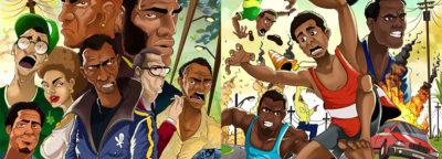The beautiful Illustrations of the Ghanaian designer Okyere-Afoakwah Charles