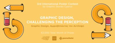 Graphic Stories Cyprus Call for Entries for their 3rd International Poster Contest