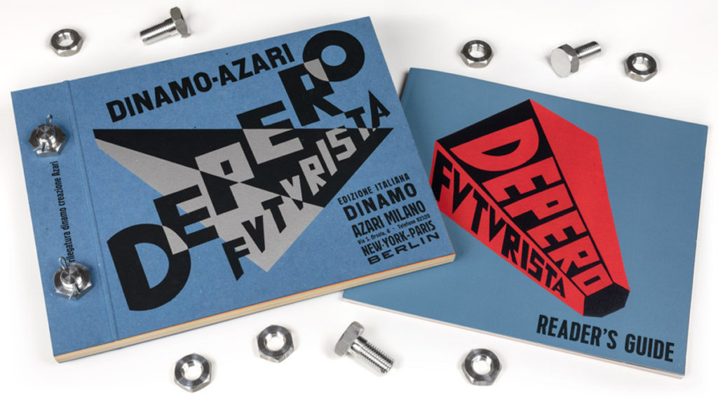 "Designers & Books Launches a Kickstarter for the Second Printing of Its Acclaimed Facsimile of the ""Bolted Book"" by Fortunato Depero"
