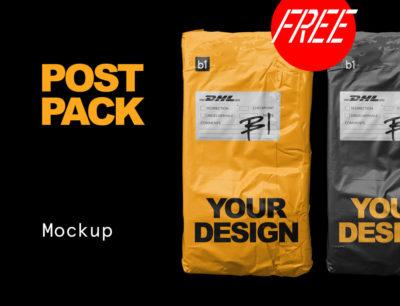 Free Mockup – Post Bag by Bolderaja1
