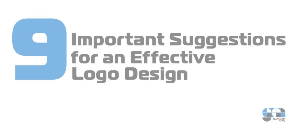 9 Important Suggestions for an Effective Logo Design