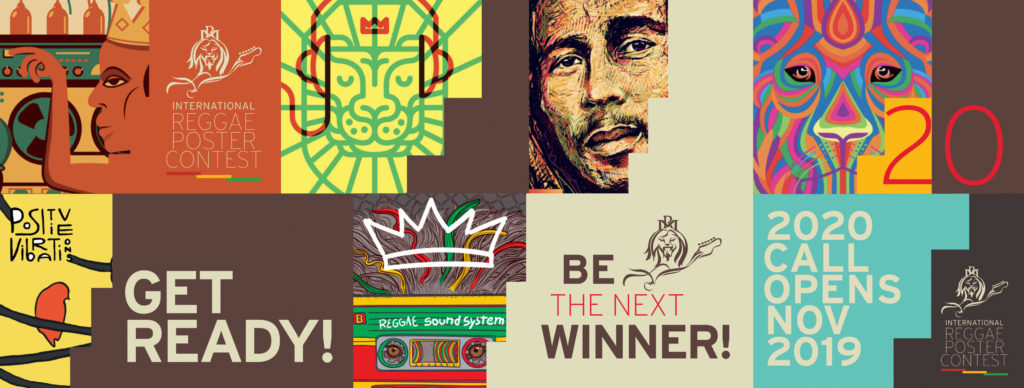 CALL FOR ENTRIES – The Intl. Reggae Poster Contest announces its 7th Call for Entries