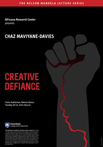 The Nelson Mandela Lecture – Chaz Maviyane-Davies